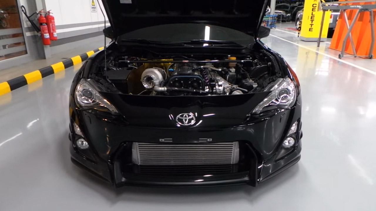 Ekanoo Racing U2019s 2jz Powered Toyota 86  U2013 Engine Swap Depot