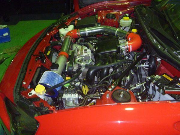 Toyota 86 with a EZ30 Flat-Six