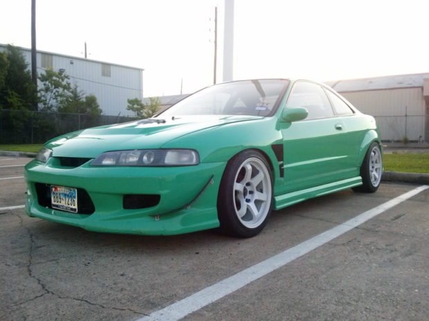 Acura Integra with a Mustang Powertrain