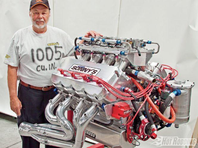 Sonny's racing 1000 cubic inch V8
