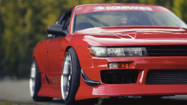 Nissan 240SX with a 1JZ