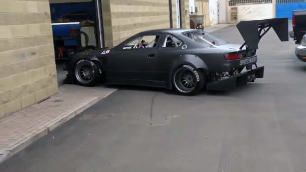 Brill Steel Carbon S14 Drift Car