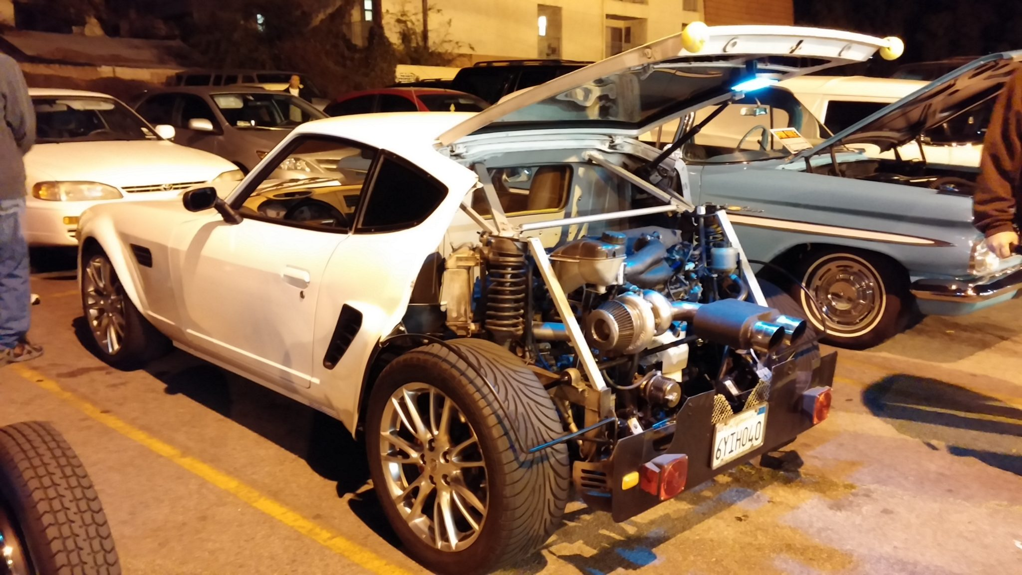 240z With A Turbo V6 In The Trunk Engine Swap Depot