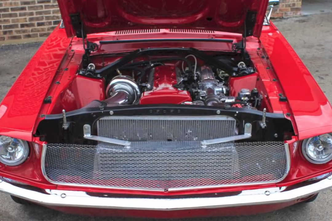 1968 mustang with a 2jz  u2013 engine swap depot