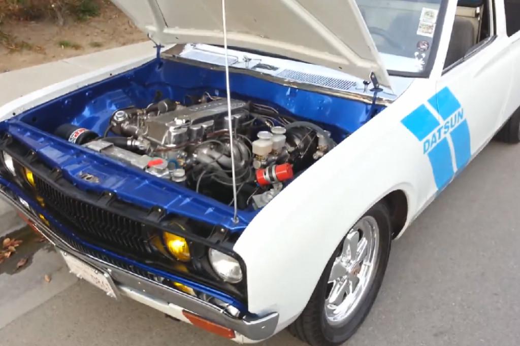 Datsun Truck With A KA24E – Engine Swap Depot