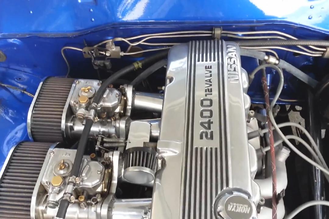Datsun 620 With Ka24e 05  U2013 Engine Swap Depot