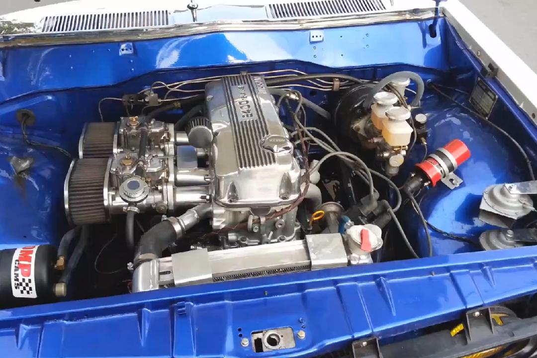 Datsun 620 With Ka24e 06  U2013 Engine Swap Depot