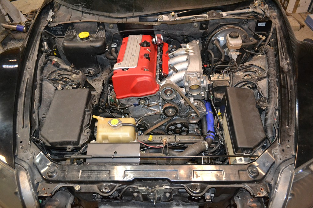 Mazda Rx8 With K20 Swap 01  U2013 Engine Swap Depot
