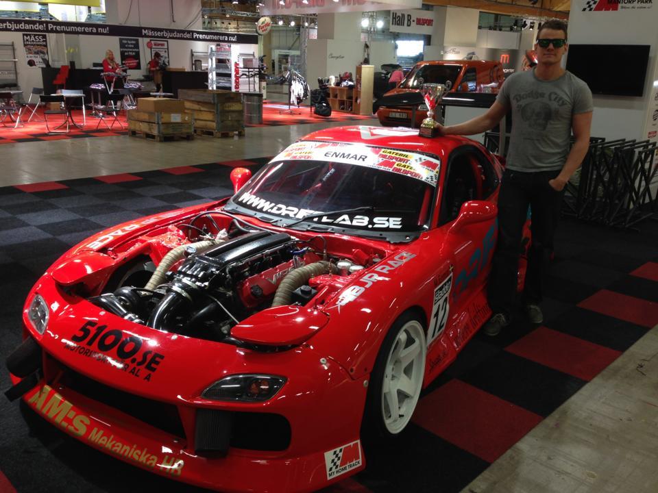 Martin Enmar Drift Rx Twin Turbo Viper V on Mazda Rx 8 Engine Swap Kits