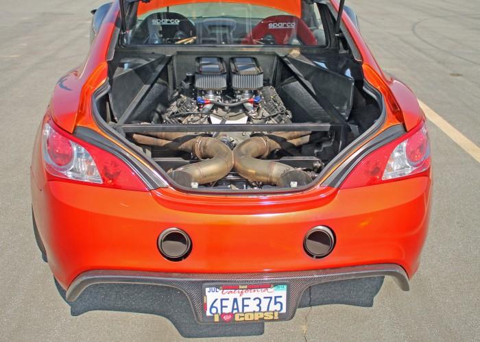 Mid engine v8 powered hyundai genesis in the wild engine swap depot - Hyundai genesis coupe engine ...