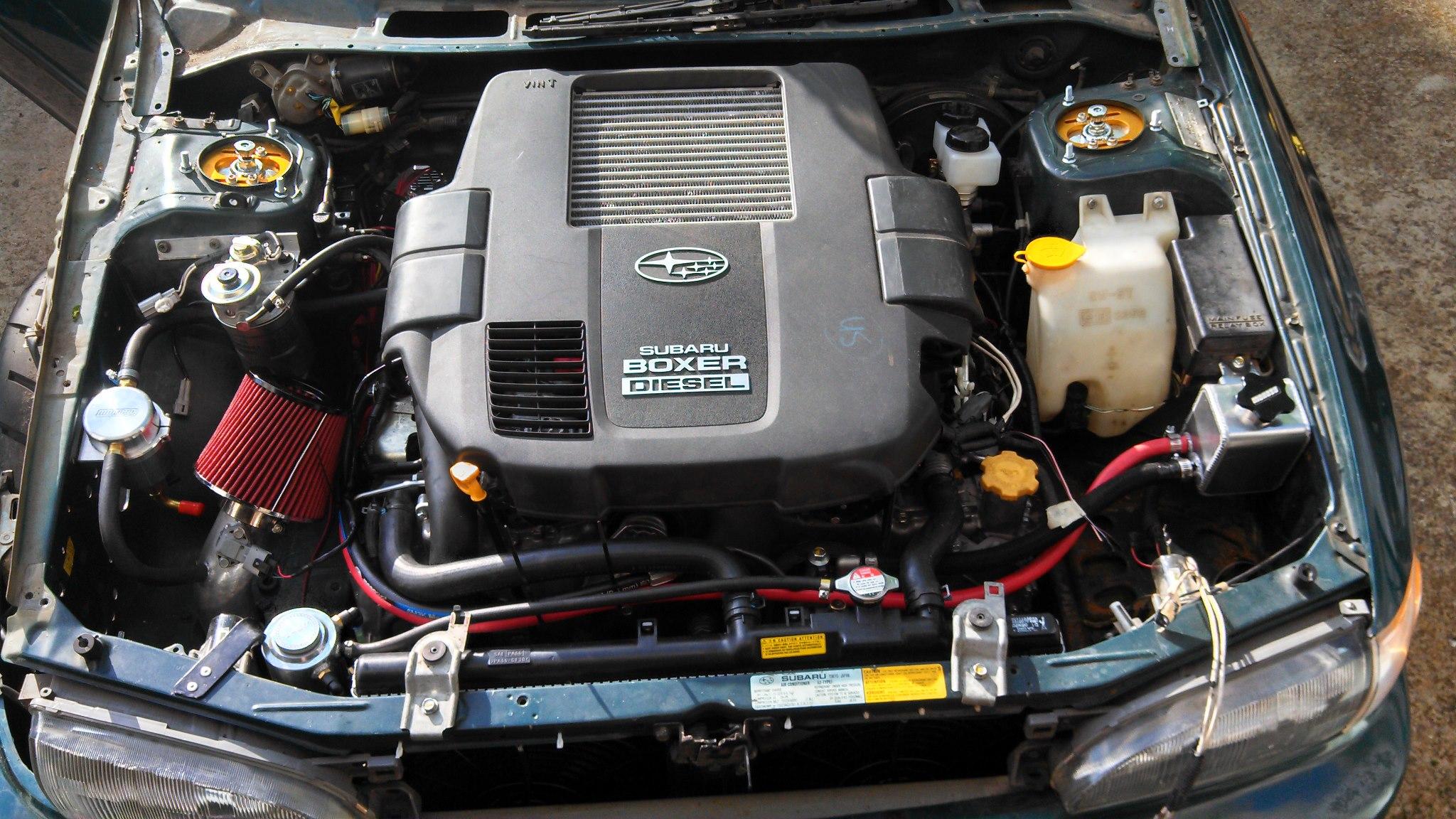 Diesel Subaru Impreza Hillclimber – Engine Swap Depot