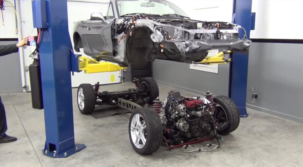 Project Thunderbolt a LS3 Powered Miata