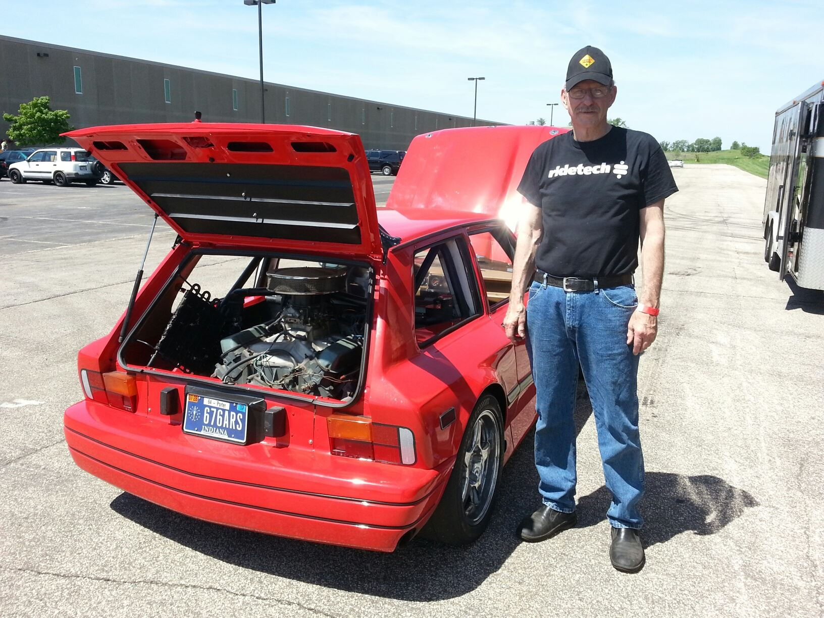1986 Yugo with Two Cadillac V8s – Engine Swap Depot