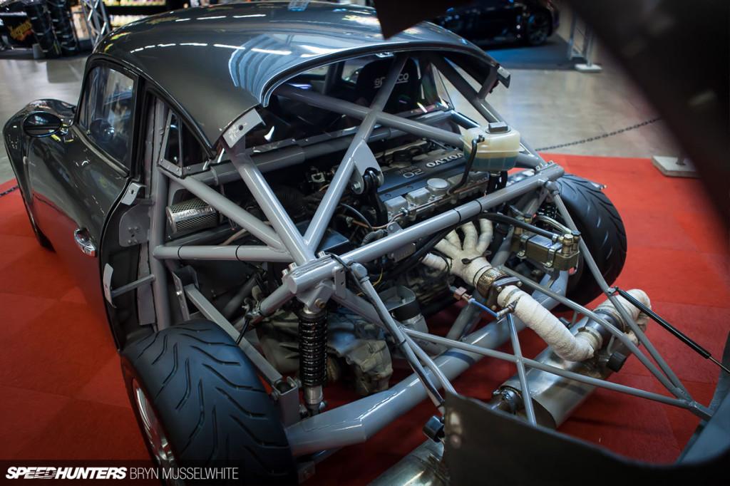 Porsche 356 With A Volvo Motor Engine Swap Depot