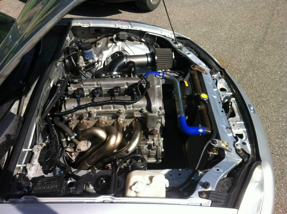Mazda Miata with a 2.4L Ecotec – Engine Swap Depot