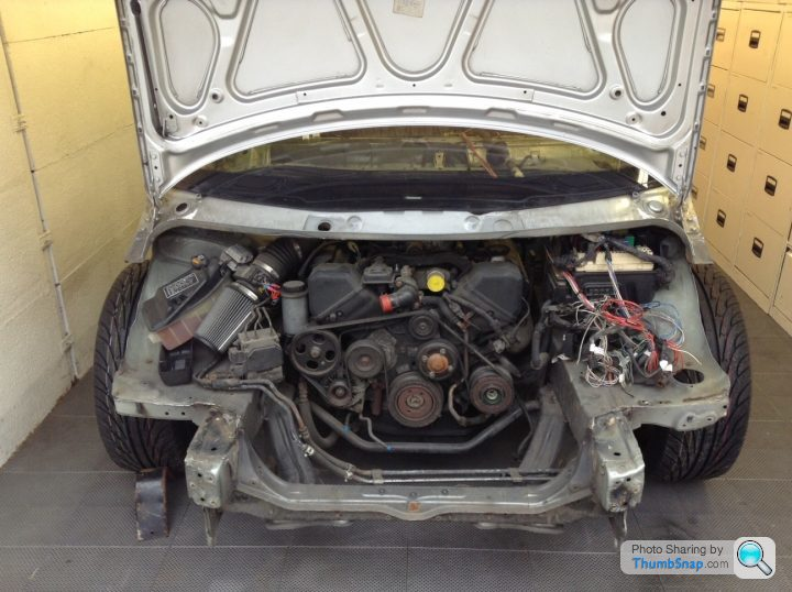Renault Van And Lexus Ls400 Sandwich  U2013 Engine Swap Depot