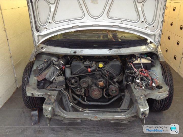 Renault Van And Lexus LS400 Sandwich – Engine Swap Depot