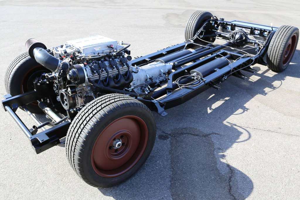 Art Morrison chassis with a LS9 V8