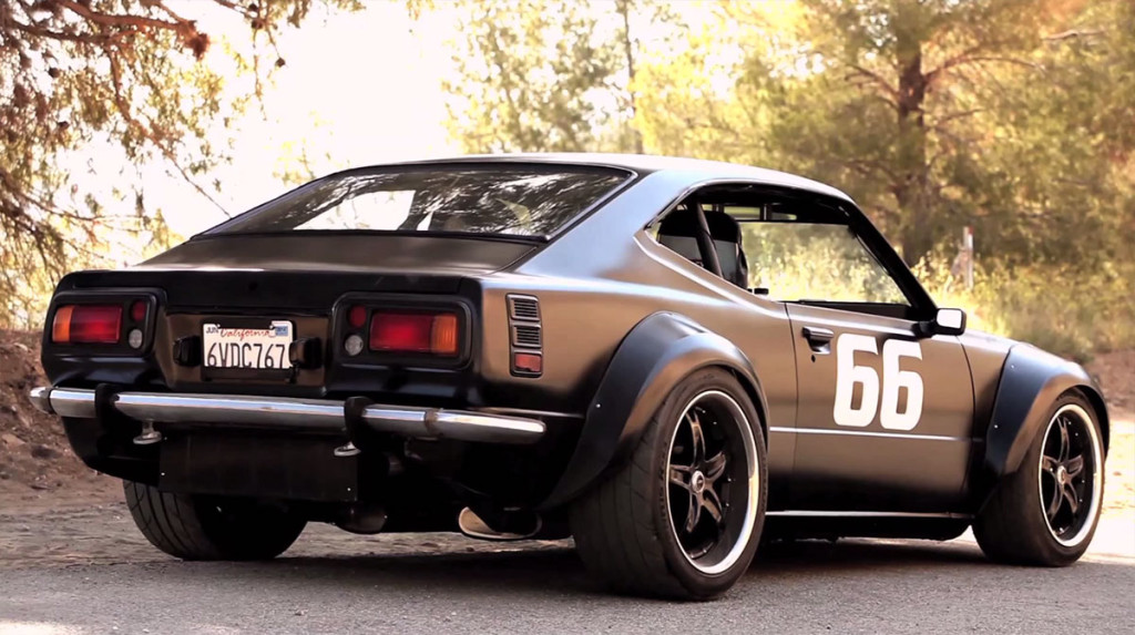 1975 Corolla Powered By A Supercharged 1uz