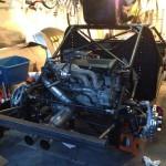 custom turbocharged 2.2L Ecotec engine inside 2000 Cavalier