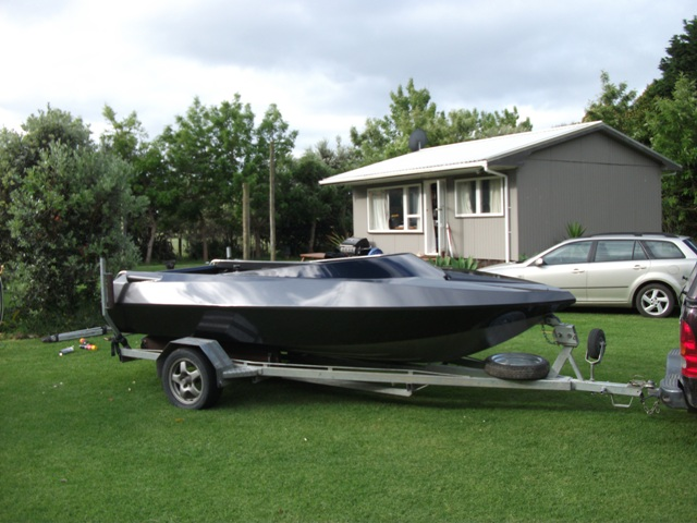 15.5 foot Jet Boat with a 800 horsepower RB26/30 engine