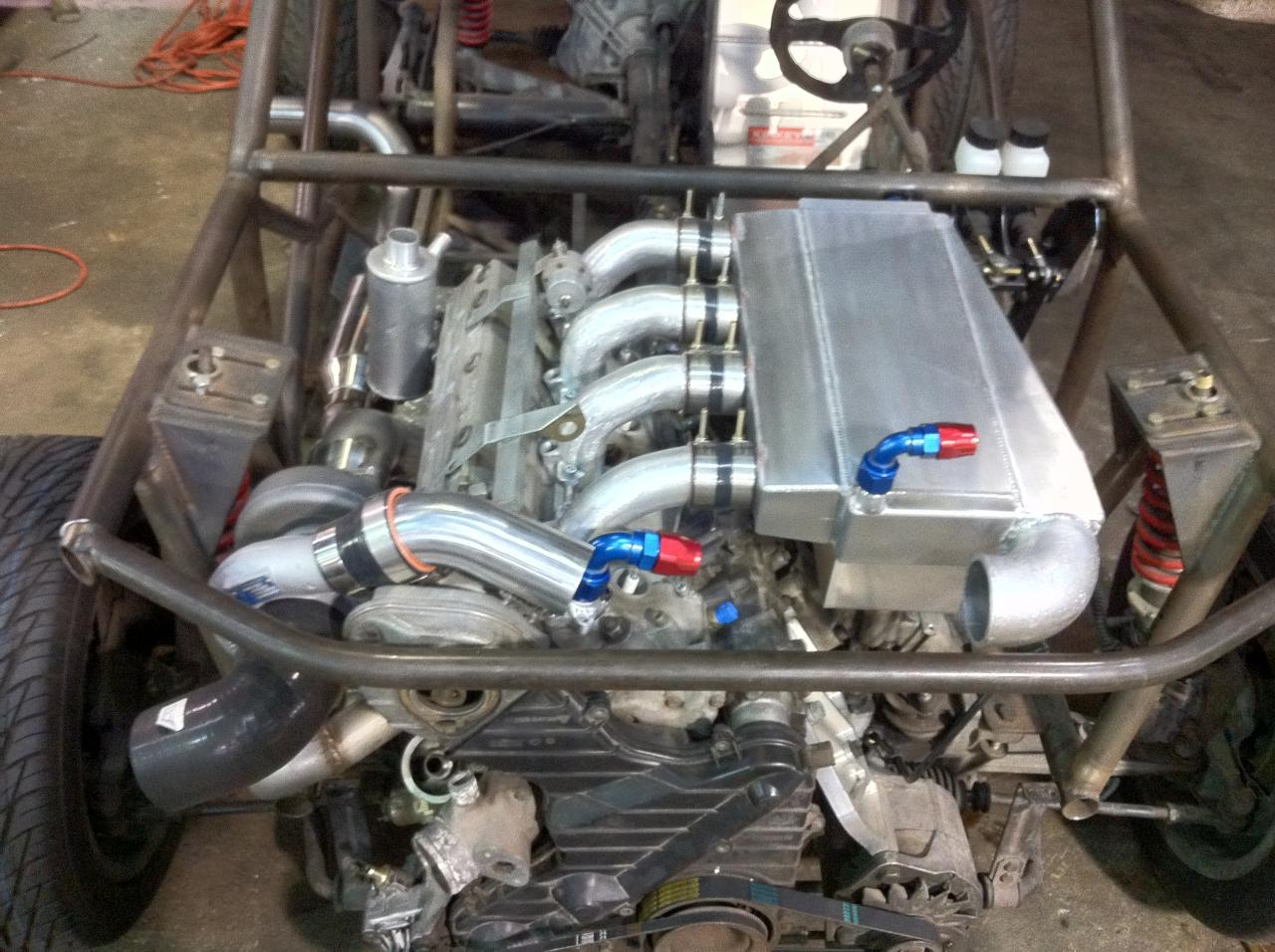 Mini Cooper With A Porsche 944 Motor Engine Swap Depot