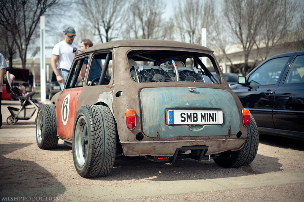 Mini Cooper with a Porsche 944 drivetrain