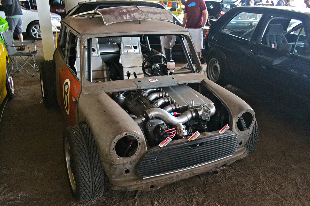 mini cooper with a porsche 944 motor engine swap depot. Black Bedroom Furniture Sets. Home Design Ideas