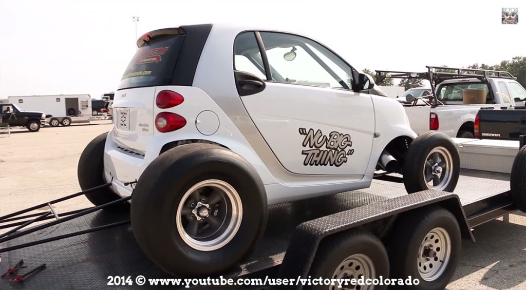 Nu Big Thing - Smart ForTwo with a Chevy V8
