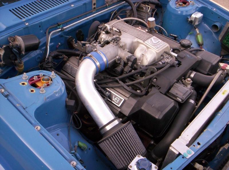1980 Toyota Corolla with Lexus 1UZ V8