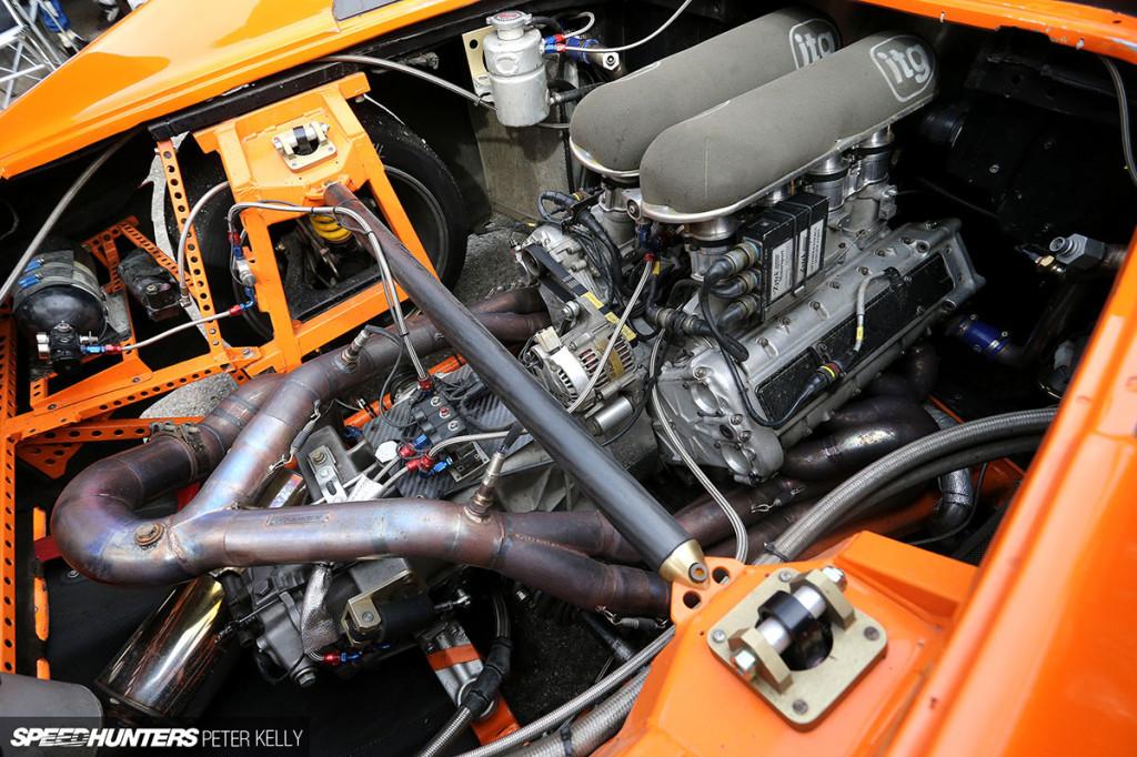Ferrari F355 With A British V8 Engineswapdepot Com