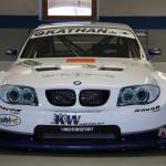 front of Georg Plasa's BMW 134 with Judd KV675 V8