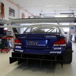back of Georg Plasa's BMW 134 with Judd KV675 V8