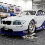 side of Georg Plasa's BMW 134 with Judd KV675 V8