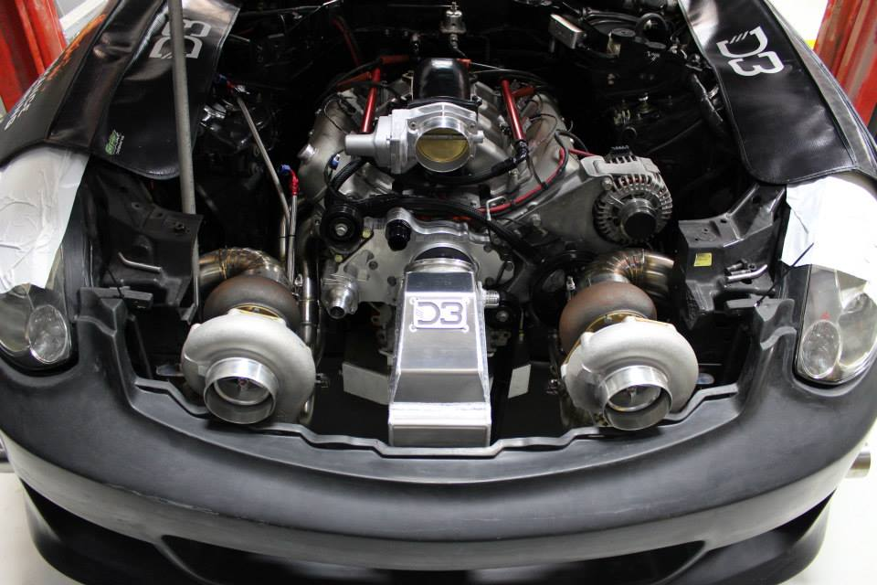 Infiniti G35 With 1500 A Horsepower Twin-turbo V8 – Engine