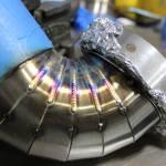 TIG welded bend