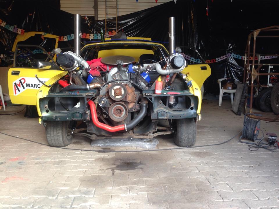Mad Jag - twin-turbo Power Stroke diesel powerd Jaguar sedan