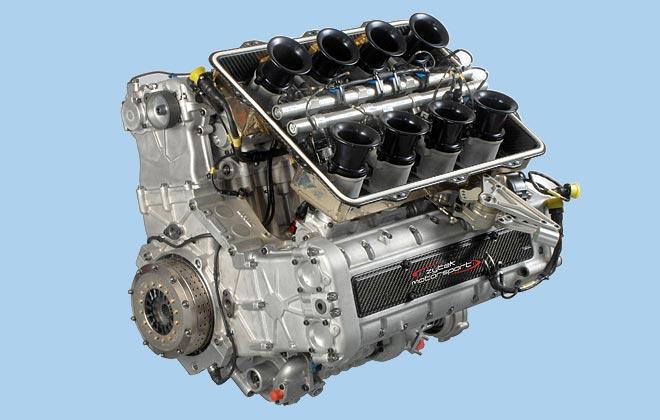Ferrari F355 With A British V8 Engine Swap Depot