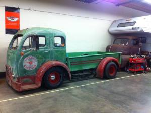 The Green Monster - A custom 1953 White Cabover with a 351 Cleveland V8
