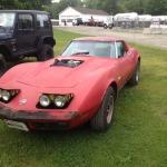 1974 Corvette with a Volkswagen TDI diesel engine
