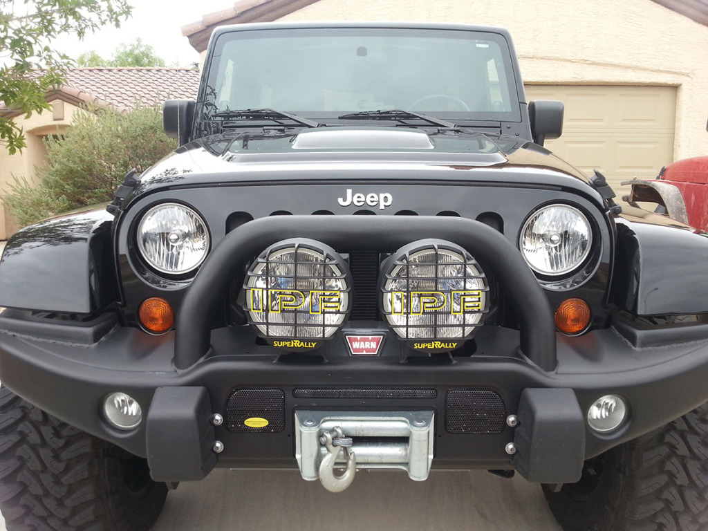 2008 Jeep JK Wrangler Unlimited with 6.1L Hemi V8