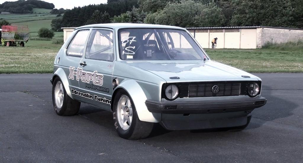 Boba Motoring's 1,100 horsepower 2.0L 16V ABF powered Golf Mk1