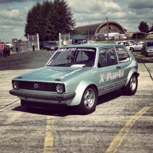 Boba Motoring's 1,100 horsepower 2.0L 16V ABF powered Golf Mk1