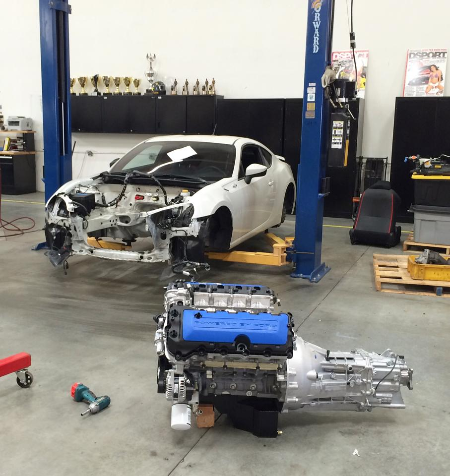 Papadakis Racing Is Building A Scion FRS with a Ford Boss 302 V8