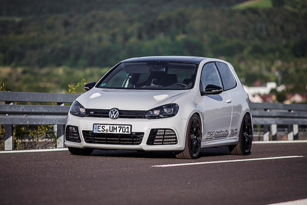 HGP-Turbo's Golf VI R with a twin-turbo 3.6L VR6