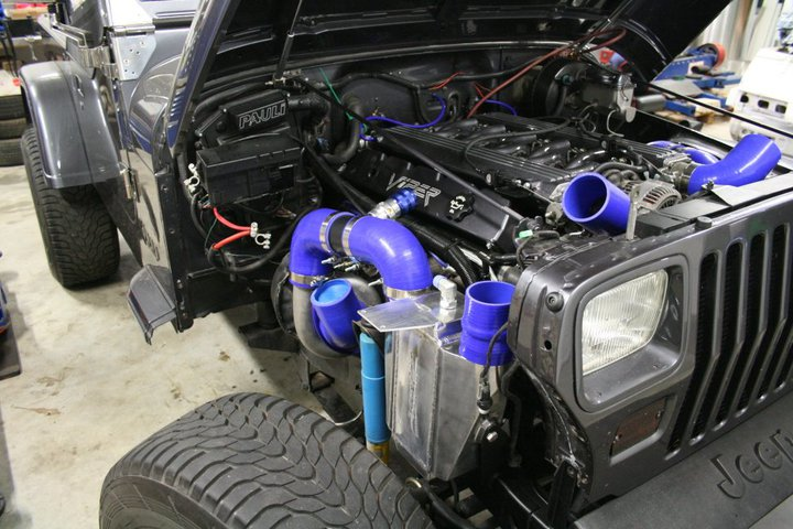Jeep Wrangler With Twin Turbo Viper V10 From Germany