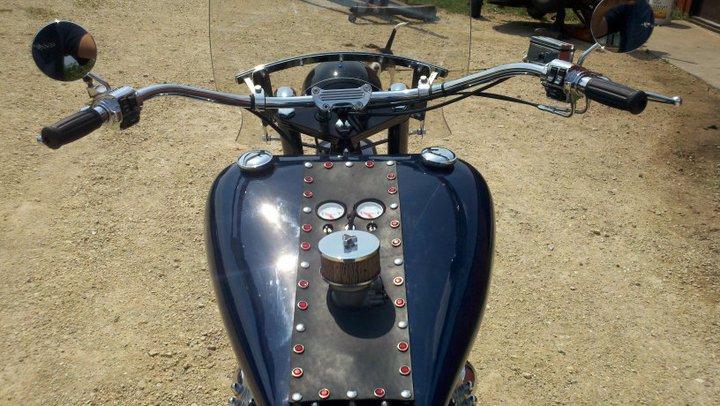 Lincoln Zephyr V12 Flathead Motorcycle 05 – Engine Swap Depot