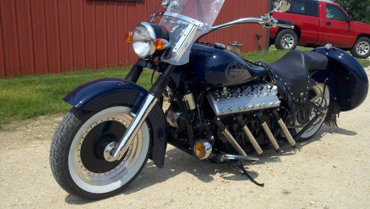 Lincoln-Zephyr Flathead V12 Motorcycle – Engine Swap Depot