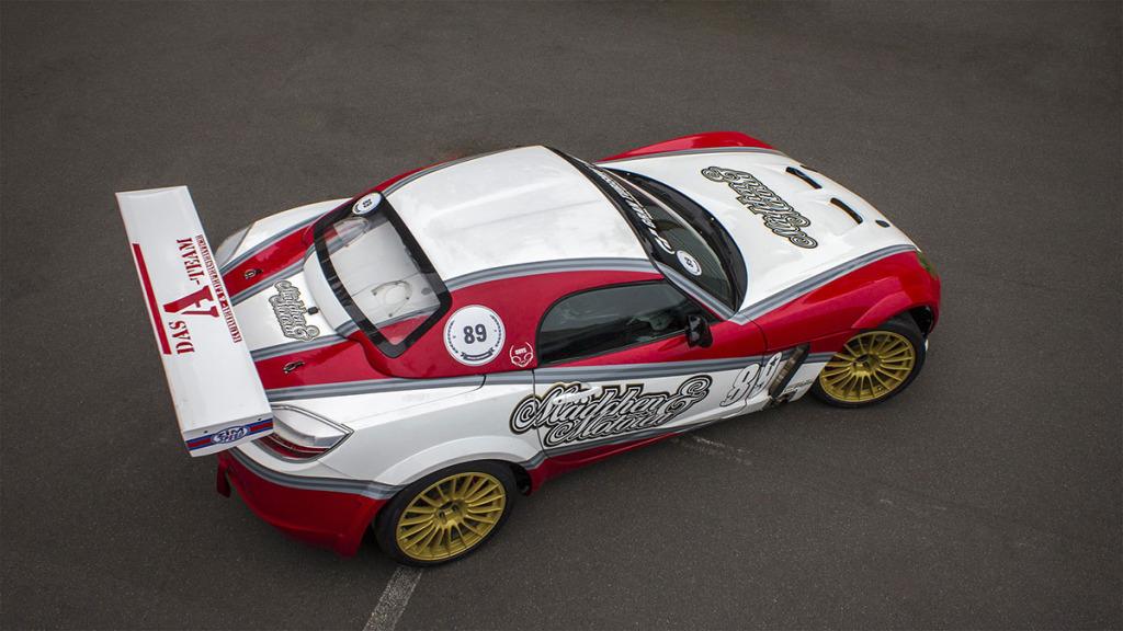 Erben Engineering's Opel GT with LS3 V8