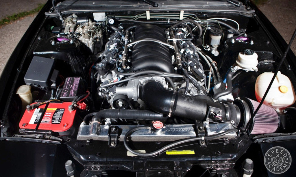 Speed Academy's LSx into Nissan S13 240SX swap guide
